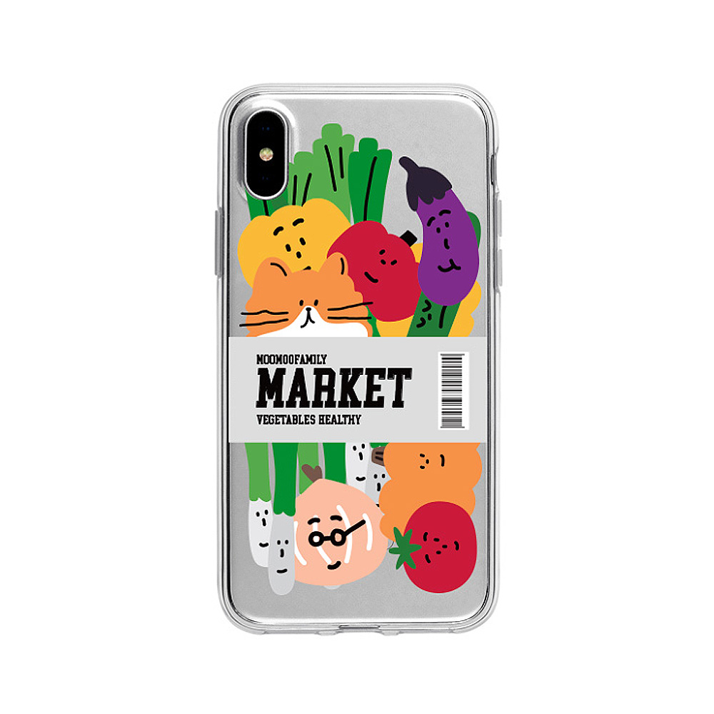 Cute Printed Transparent Case Shockproof TPU Bumper Protective Hard Back Cover for iPhone 8 Plus 7 Plus XS XS MAX Huawei P20 Pro P30 Pro Mate 20 Pro