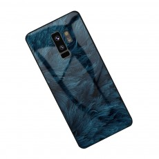 Stylish Protective Phone Case for Samsung Note 8 Note 9 S8 S9 Plus S10 Plus S10E, Silicone Tempered Glass Phone Cover Shatterproof with Unique Pattern