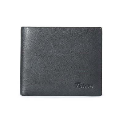 Bifold Genuine Cowhide Leather Men Wallet with RFID Technology Stylish Cash Purse
