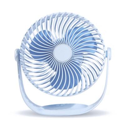Latest F12 High-capacity of 2000mAh Mini-sized Electric Fan, 360 Degrees Rotational USB Air Fan Portable