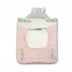 Baby Cloak Polyester Fiber Material U Package Warm Coat with Hat for Mummy Carry Baby Soft Cape