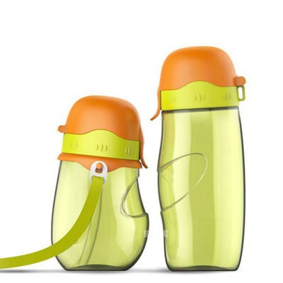 Parent Child Bottle Silicone Material For Baby Parent Learn Drink
