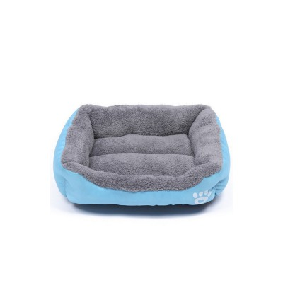 Super Soft Pet Sofa Dog Bed, Non Slip Bottom Pet Lounger, Self Warming and Breathable with Raised Rim Pet House