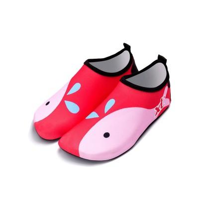 Kids EVA Rubber Soft Swimming Shoes for Swim Diving Wade Breathable Light Anti-slip Beachwear Shoes for Boy Girl