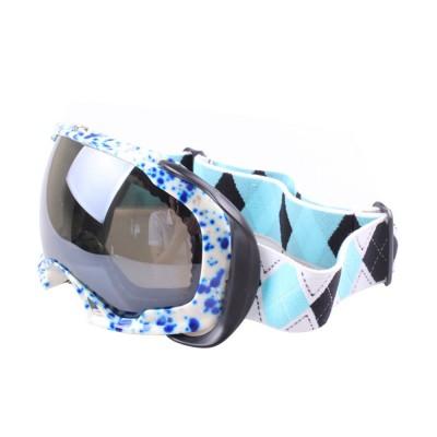 Ski Glasses Double-layer Anti-fog Goggles Anti-snow Glasses Outdoor Sports Goggles Ski Glasses UV400 Radiation Protection Blue