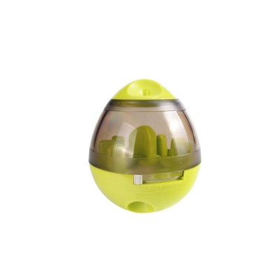 Dog Treat Dispenser Ball Toy Interactive Treat-dispensing Ball for Dogs and Cats Tumbler Design