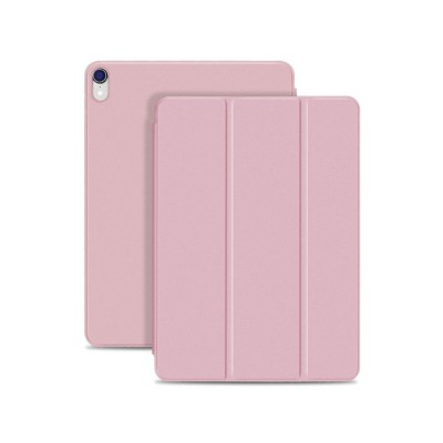 Tablet Protection Case for iPad Pro 11 2018 New iPad 11 Protective Case Tri-fold Intelligent Smart Magnetic Leather Shell Case Lightweight