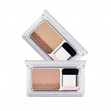Lazy Double Color Phantom Eye Shadow Gradient Ramp Pearl Eyeshadow Earth Color No Blending Waterproof Eye Shadow