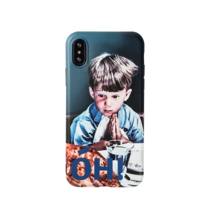 Original Work Vintage Cell Phone Protective Case Shell for iPhone XS MAX XR 8 Plus 7 Plus 6S Plus, OH Boy Pattern Soft Full Back Cover Shockproof iPhone Case