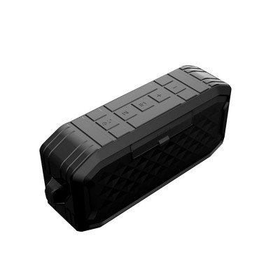 Bluetooth 5.0 Speaker Silicone Waterproof IPX7 Voice Box Dustproof Anti-fall Hand-free Call HIFI 3D Sound Effect Subwoofer Music Player