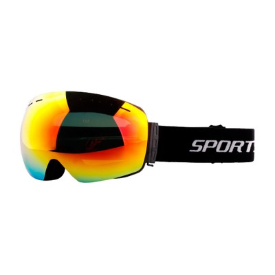 Large Sphere Double Fog-proof Skiing Glasses, Wearing with Myopic Lens Skiing Equipment