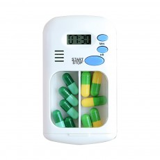 Intelligent Electronic Medicine Box Abs & PP Pill Box Alarm Clock Reminder Compartments Box Tablet Portable Pill Carrier