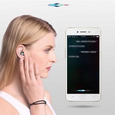 Langston F8 Mini Bluetooth Earphone In-ear Wireless Earphone Universal Waterproof for Apple VIVO OPPO HUAWEI Invisible Ear Hanging Type Earphone