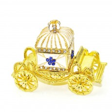 Diamond Crown Car European Enamel Painting Technology Creativity Metal Decoration for Home Valentine's Day Gift