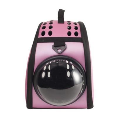 Pet Bag Intelligent Cooling EVA Puppy Travel Cage Portable Collapsible One Shoulder Handbag for Pet Dog Cat Travel Bag