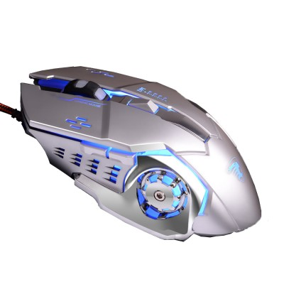 Gaming Mouse Wired Macro-program Mouse Mute for Laptop Office Mechanical Mouse Designed for Games