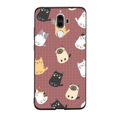 Cameo Brown Silicone Soft Shell for HUAWEI Mate 9 Pro, 10, 20 Pro, 20x All-inclusive Protection Fall Prevention Mobile Phone Case