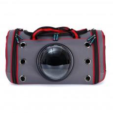 Space Pet Bag Portable One Shoulder Messenger Breathable Backpack Carrier for Pet Dog Cat Transparent Puppy Travel Cage