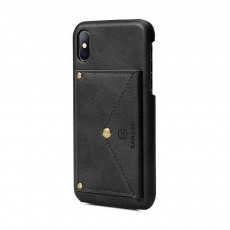 Premium Leather Phone Case Cover with Wallet, Cards Bag, Luxury Smooth PU+PC Case Cover for iPhone and Samsung