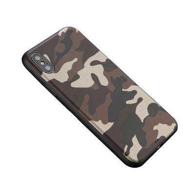 Camouflage Phone Case, Leopard Print Case Cover, Smooth TPU Phone Case, Luxury Ultra Thin Case Cover for iPhone