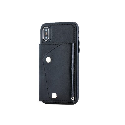 Stylish Leather Phone Case with Card Bag, Wallet, Case Cover Can be Insert Cards, Multifunctional Phone Case for iPhone, Samsung
