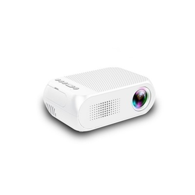 New Style High Quality Projectors YG320 Mini-sized Portable Projection Machine for Home Using 1080P Supporting for OEM Custom Home Theater