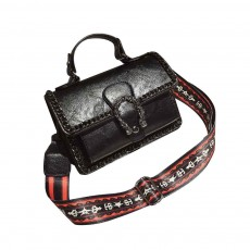 Retro Ladies Small Square Bag, Wild Wide Shoulder Bag, with Simple and Comfortable Portable Design