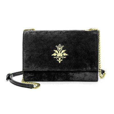New Velvet Fashion Flip Cover Small Square Bag, Ladies Shoulder Bag, Autumn Winter, 2019