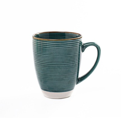 Ceramic Mug Cup with Glaze for Tea, Milk, Coffee, Water, Breakfast Cup for Cereal, Fashionable Water Mug for Home and Office