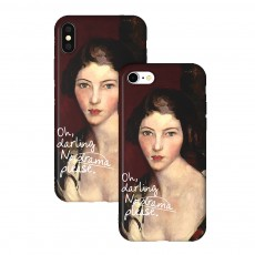 Creative Oil Painting Phone Case, Fine and Smooth TPU Phone Case, Elegant Ultrathin Soft Case for iPhone