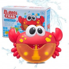 Crab Bubble Machine Music Bubble Bath Shower Partner Vibrating Electric Bubble Machine Toy