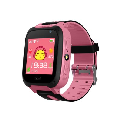 Children Kids Smart Watch with Camera, Touch Screen Watch Tracker SOS Call Multifunctional Digital Watch with Flash Light