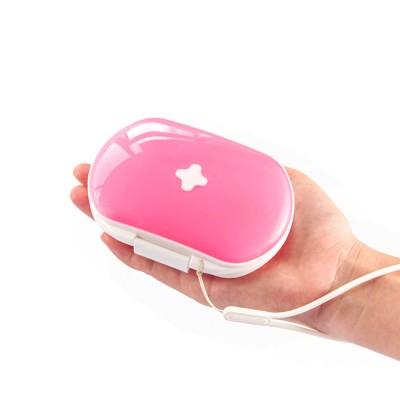 Mini Medicine Box Food Grade PP Portable 7 Days Compartments Sealing Waterproof Tablet Pill Organizer Customization