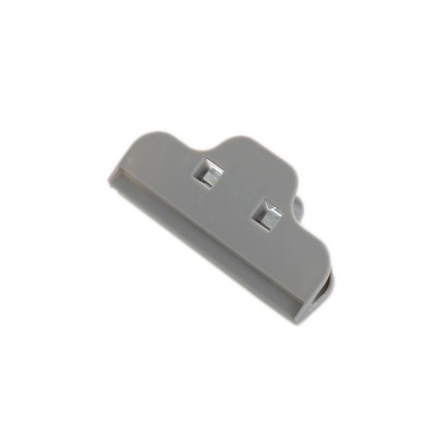 Multi-purpose Strong Plain Plastic Clip with Large Opening Design & Strong Spring for Snack Bags