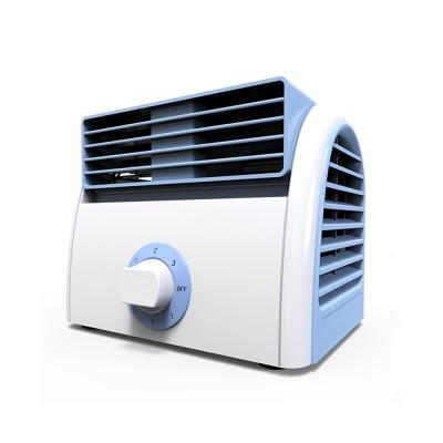 Non-USB Mini Desktop Fan with Three Adjustable Wind Speed, Desktop Student Dormitory Bed Quiet Office