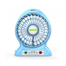 Silent USB Mini Fan with Three Wind Speed, Outdoor Portable Hand Held Mini Fan with Large Capacity Charging