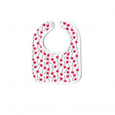 Baby Cotton Gauze Saliva U-Towel with Snap Fastener and Ultra-soft Bag Edge, Cute Cartoon Design Baby Bib