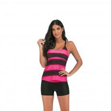 Full-size Flounce Swimsuit Digital Print Fission Swimsuit Slimming, Straps Slimming Swimsuit with Various Style