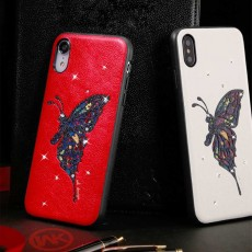 Luxury iPhone Protective Case 3D Handmade Bling Colorful Diamonds Soft TPU Back Case Cover for Apple iPhone XS XR XS Max
