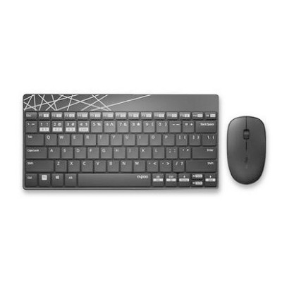 2.4G Wireless Bluetooth Keyboard and Mouse Combination Free Stable Connection with Long Battery Life