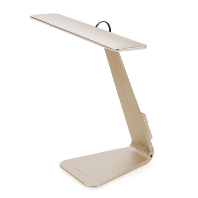 Folding Stylish Desk LED Lamp Ultra Slim ABS Rubber Material Folding Lamp Long Stand by Anti-paint Light USB Rechargeable LED Light for Student Dormitory