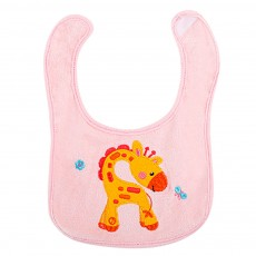 Saliva Cover Cotton TPU Material, Waterproof Spit Bib for Baby Avoid Dirt with Cute Pattern Design Breathable Baby Bib