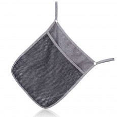 Baby Stroller Hanging Bag for Shopping, Outdoors, Multifunctional Mesh Bag with Handle Small Portable Storage Holder