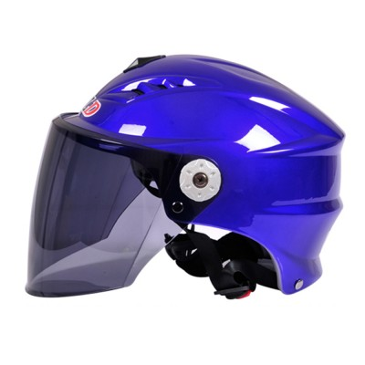 Motorcycle Helmet for Men Women Riding, ABS Material Hollow Buffer Headgear with Anti-fall Adjustable Velcro Headgear, Anti-pressure Breathable Headpiece