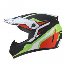 Motor Helmet Mountain Bike Safe Headgear ABS Material Anti-fall Pirate Skull Pattern Headgear for Men Women Riding Cap Anti-pressure Light Helmet