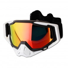 Ski Goggles Motorcycle Harley Goggle Over Glasses with Anti-Fog sand-proof mask Sport equipment Glasses Dual Interchangable Lens for Men Women