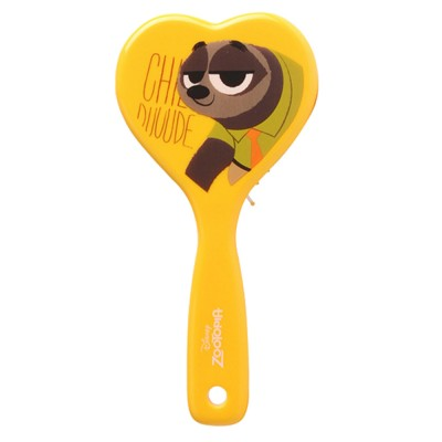 Portable Hair Comb ABS Rubber Material with Cartoon Pattern Curling Hair Comb, Heart Shape Girl Head Massage Tool, Lovable Air Cushion Comb