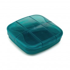 Sealed Mini Pill Holder for Elderly, Patient, Weekly Travel Friendly Pill Box Portable with Waterproof Protective Bag
