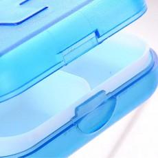 Portable Small Pill Organizer Case, Moisture-proof Pill Box for Vitamins, Fish Oil, Supplements Medication Medicine Case