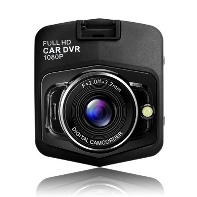 Automobile On-board Vehicle Data Recorder 2.4 Inch, 1080P Wide Angle Dashboard Camera, 32GB TF Card Support Vehicle Data Recorder